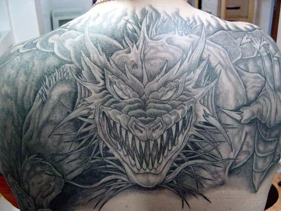 Татуеровки драконав
