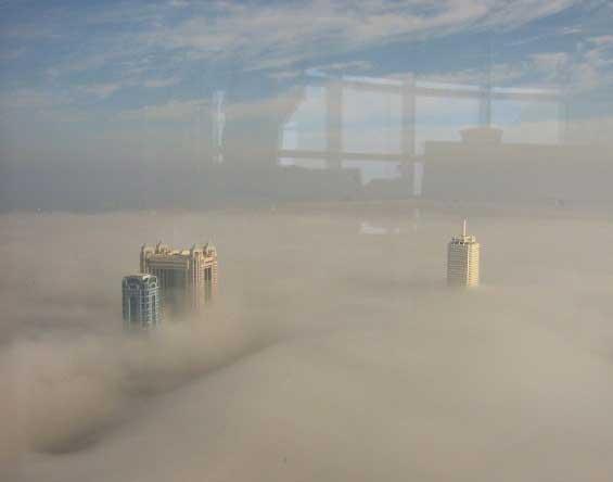 Туман над Дубаи !!!