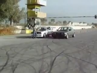 Один дрифтер на две машины