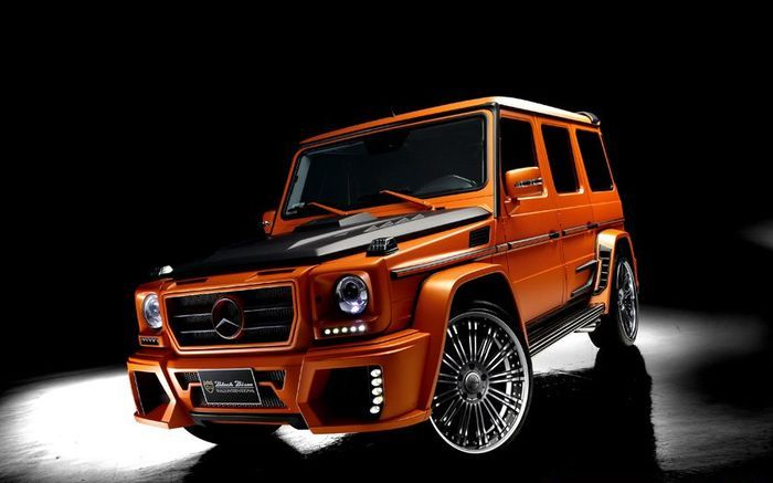 wald international, black bison, mercedes-benz g-class, sports line black bison