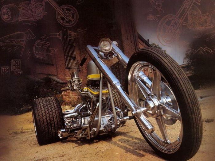 трайк, трицикл, мотоцикл, история модели