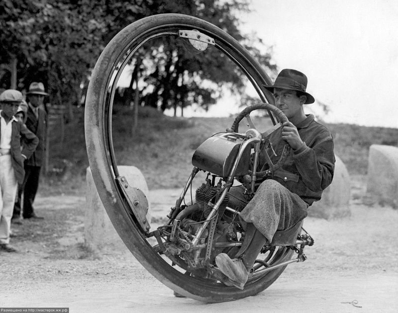 Моноцикл своими руками