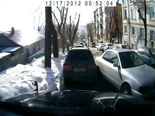 У машины отказали тормоза