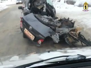 Водитель Toyota-зомби