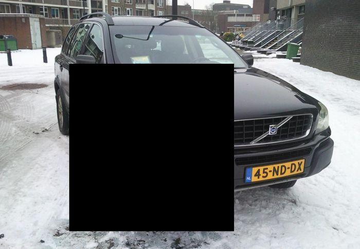 volvo xc90, баба за рулем, тп, женская парковка
