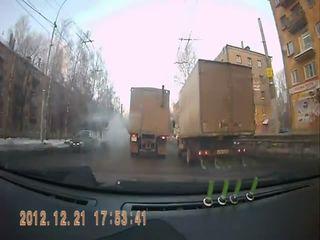 Тролль на грузовике