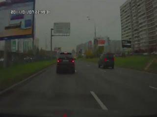 Шашки BMW X5 и VW Golf GTI