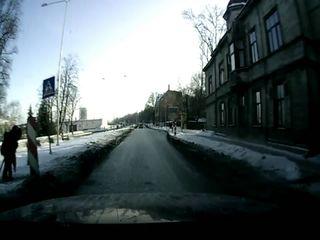 Пешеход сам не рад