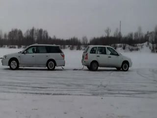 Кто кого? Subaru против Лады Калины