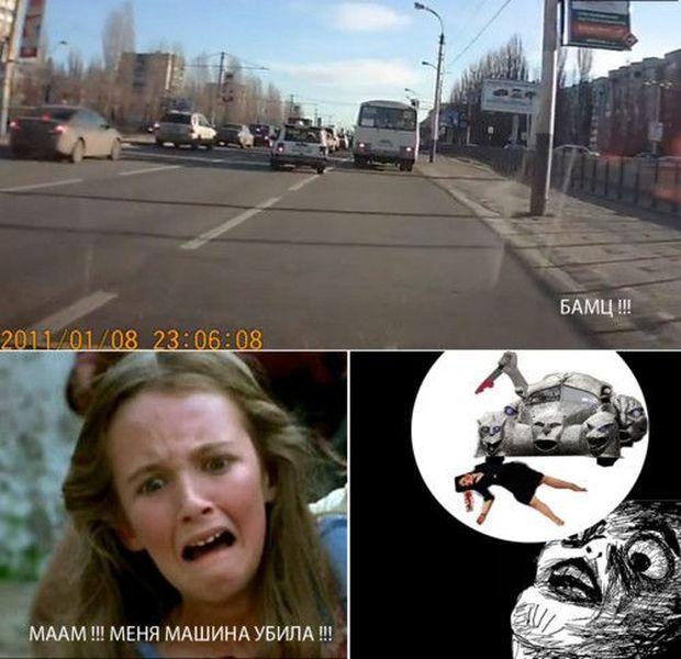 фура задавила, авария с фурой. тп