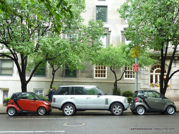 парковка, правила парковки, нью-йорк