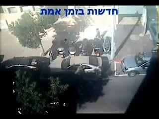 Коммунальщики в Тель-Авиве