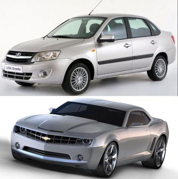 acdff5ab27c81 Сравнение цен популярных автомобилей России и США (фото)