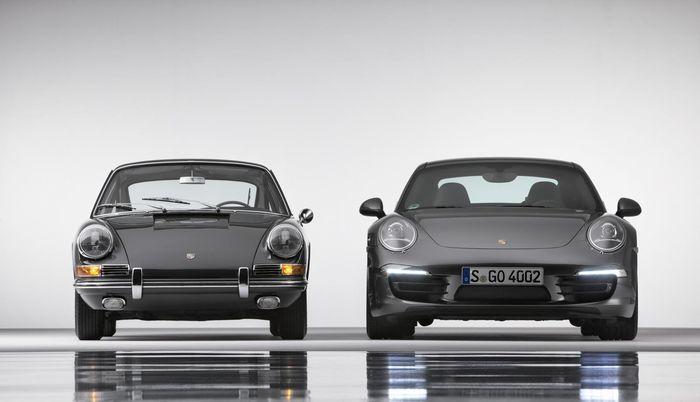 porsche 911, история модели, юбилей авто