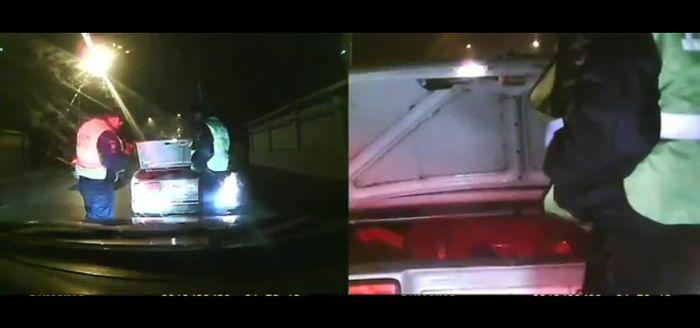полиция. задержание, стрельба на дороге, дпс