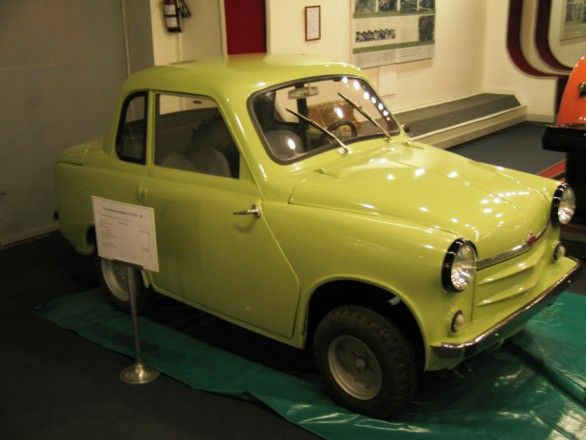 история авто, инвалидка, мотоколяска
