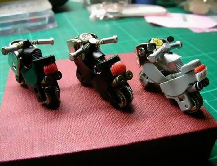 своими руками, мини-байк, мотоцикл