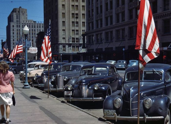 Американские автомобили в период 40-60-х годов . | Zabarankoi.ru