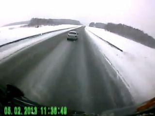Подборка аварий за февраль
