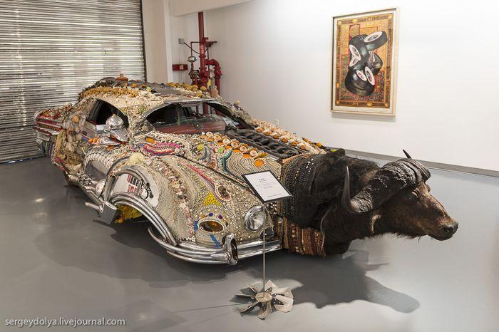 странный авто, диковинный авто