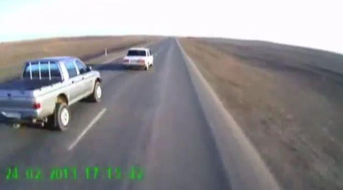 авария, авария дня, авто авария, дтп, жесть, лобовая авария, mitsubishi l200, ваз 21099