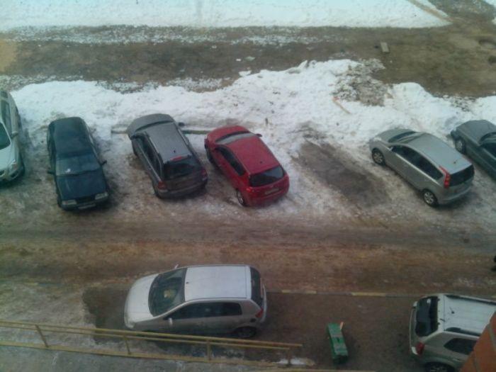 испортил машину, доски на авто, месть, автоместь, парковка, месть за парковку,
