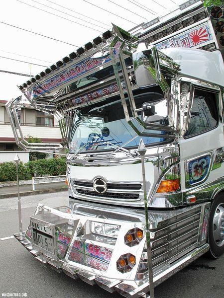 тюнинг грузовиков, японский тюнинг, dekotora, decotora