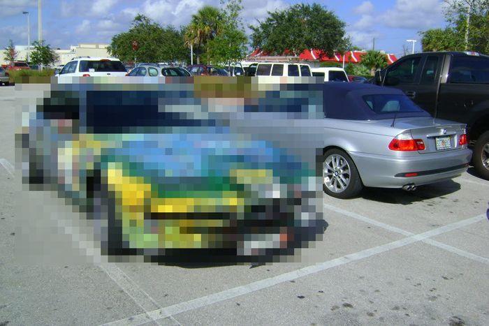 найдено на ebay, продажа авто, необычный цвет, самоделкин, bmw 850ci