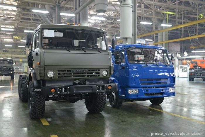 камаз, производство авто, автозавод, завод камаз