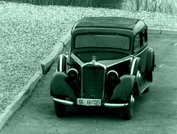 машина знаменитости. штирлиц, мерседес, история авто, mercedes-benz 230 w143
