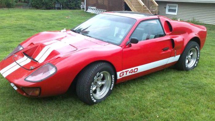 найдено на ebay, продажа авто, pontiac fiero, самоделкин, ford gt 40