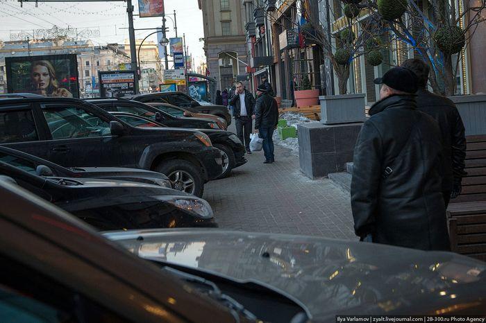 парковка, парковка в москве, московская парковка