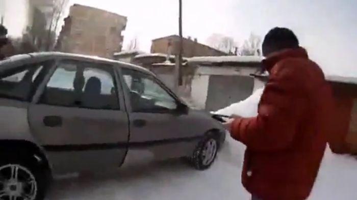самоделкин, opel vectra, машина без водителя