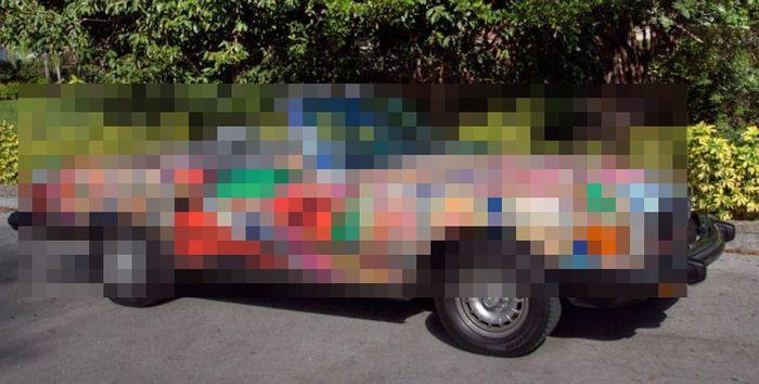 mercedes 380 sl, самоделкин, краска авто