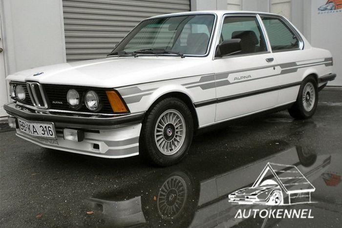 найдено на ebay, продажа авто, alpina, bmw 320i turbo e21
