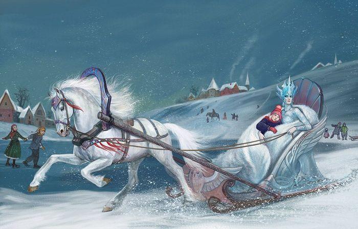 снежная королева, машина знаменитости, макет автомобиля