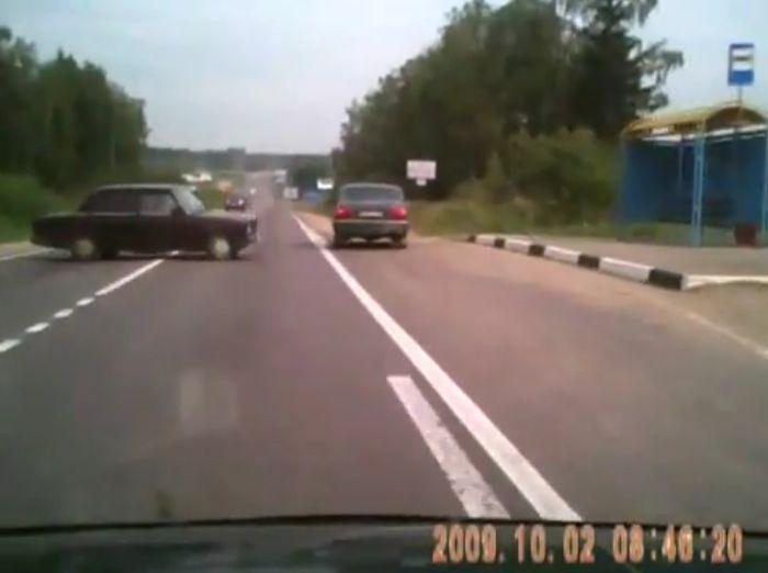 авария, авария дня, авто авария, дтп, жесть, лобовая авария, ваз 2107