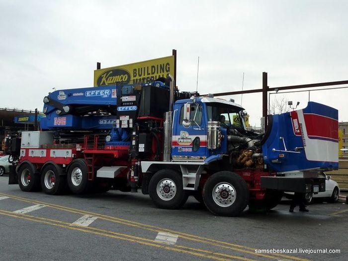 американский грузови, грузовик, тягач, фура