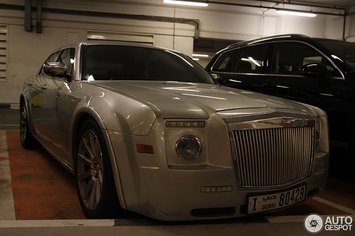 chrysler 300c srt 8, самоделкин, колхоз, rolls-royce phantom, drophead