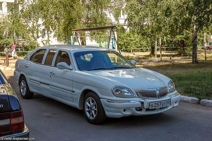 волга 3111, лимузин
