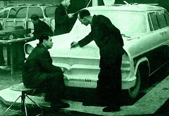 история автомобиля, русский