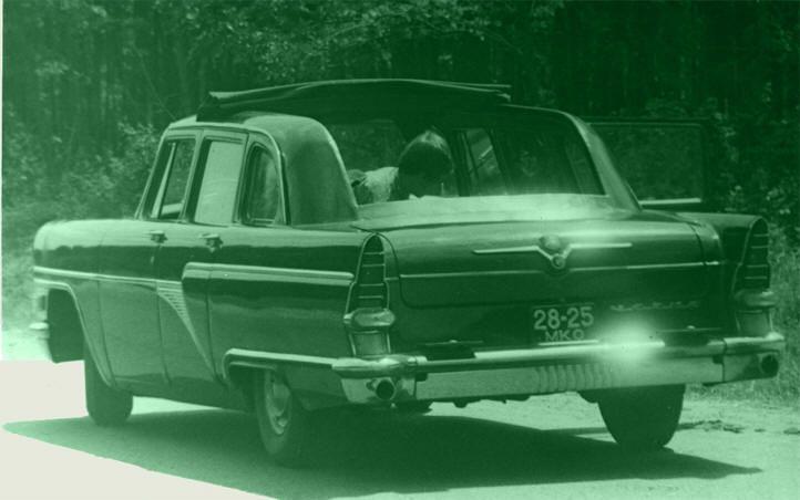 выпуск автомобиля ГАЗ-13