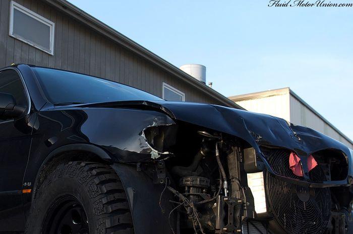 bmw x5, самоделкин, тюнинг авто