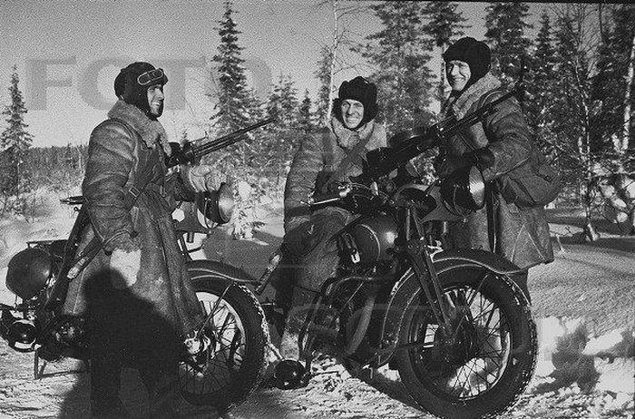 мотоцикл, военная техника, боевая техника, боевой мотоцикл