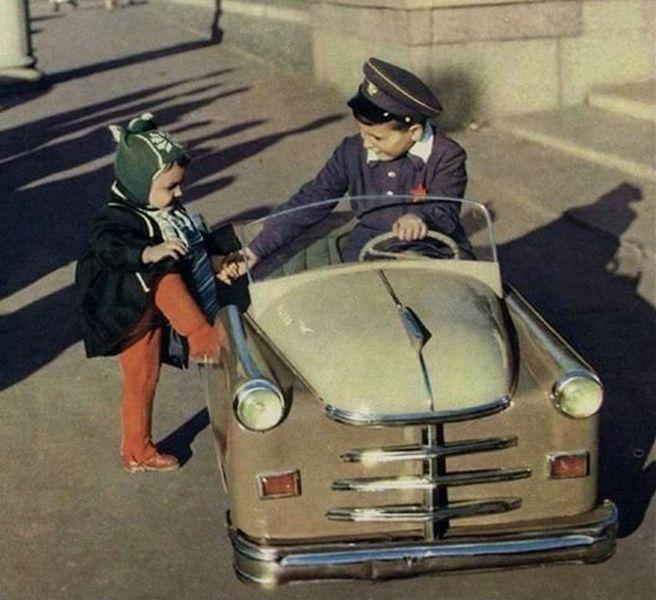 авто, модель авто, педальная тяга, детский авто