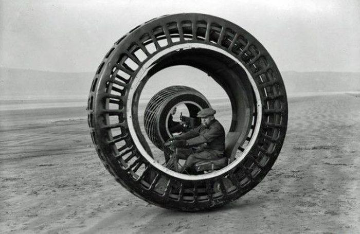 авто, колесо, одноколесный авто