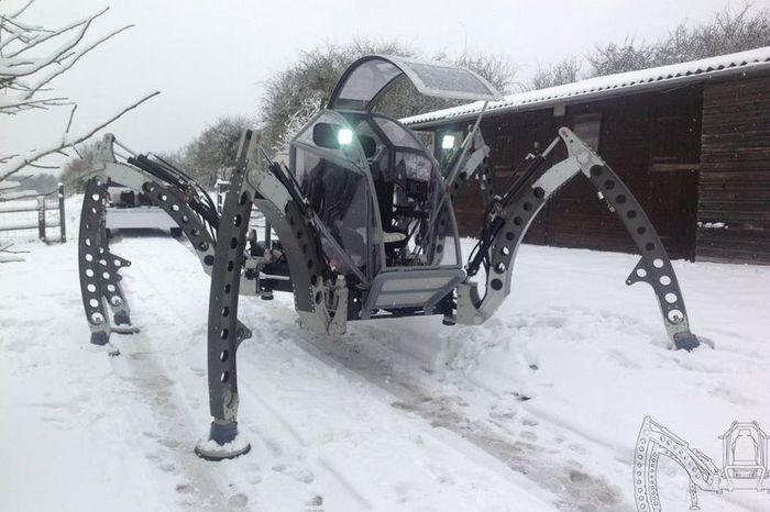 авто, робот, шагающий робот, mantis
