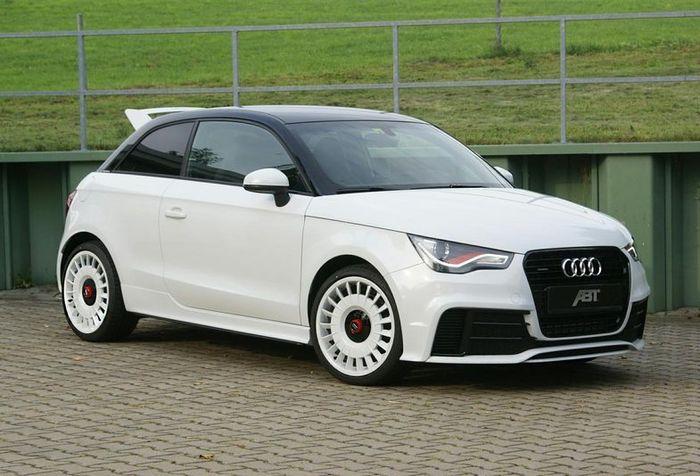 Ателье ABT поработало над Audi A1 Quattro (4 фото)