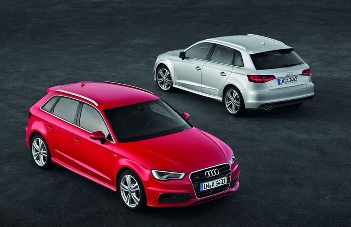 Компания Audi представила модель A3 Sportback (52 фото+видео)