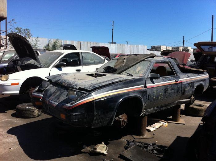 Единственный Shelby Street-Fighter Rampage гниет на свалке (4 фото)